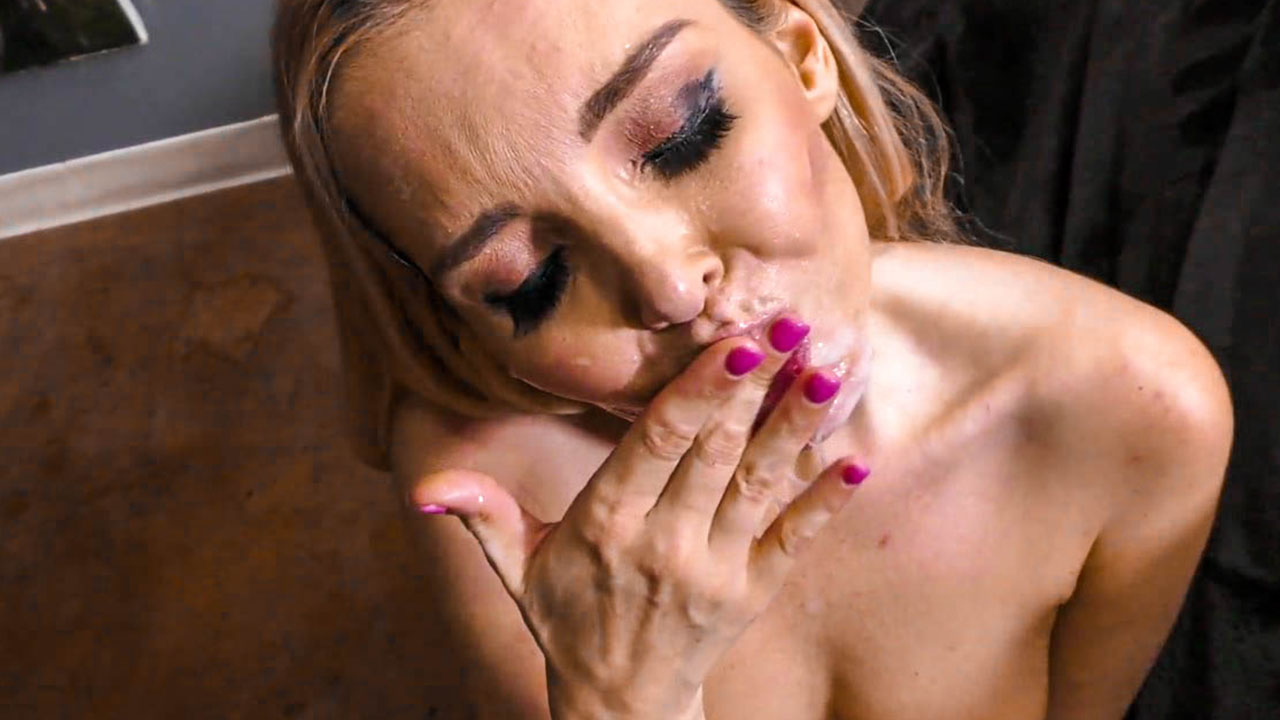 Aaliyah Love Naughty Cum Slut Loves Sucking Cock Pov Blow Job Eyes Cum Shot