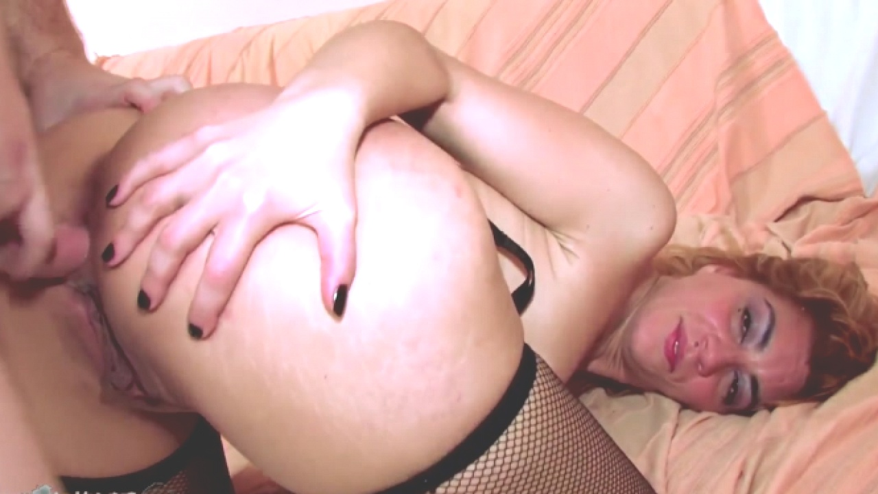 Anal Fucking For Blonde Slut