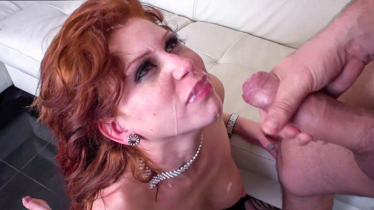 Attractive Redhead Milf Brooklyn Lee Shaking In Orgasms