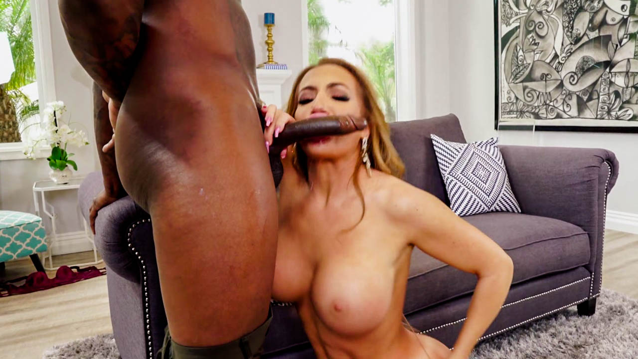 Big Black Cock Gets Busty Richelle Ryan Off