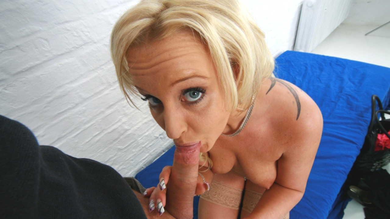 Big Eyed Blonde In Hot Casting Session