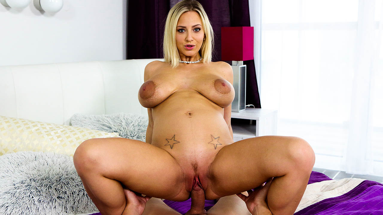 Big Tit Czech Girl Loves  To Ride Dick