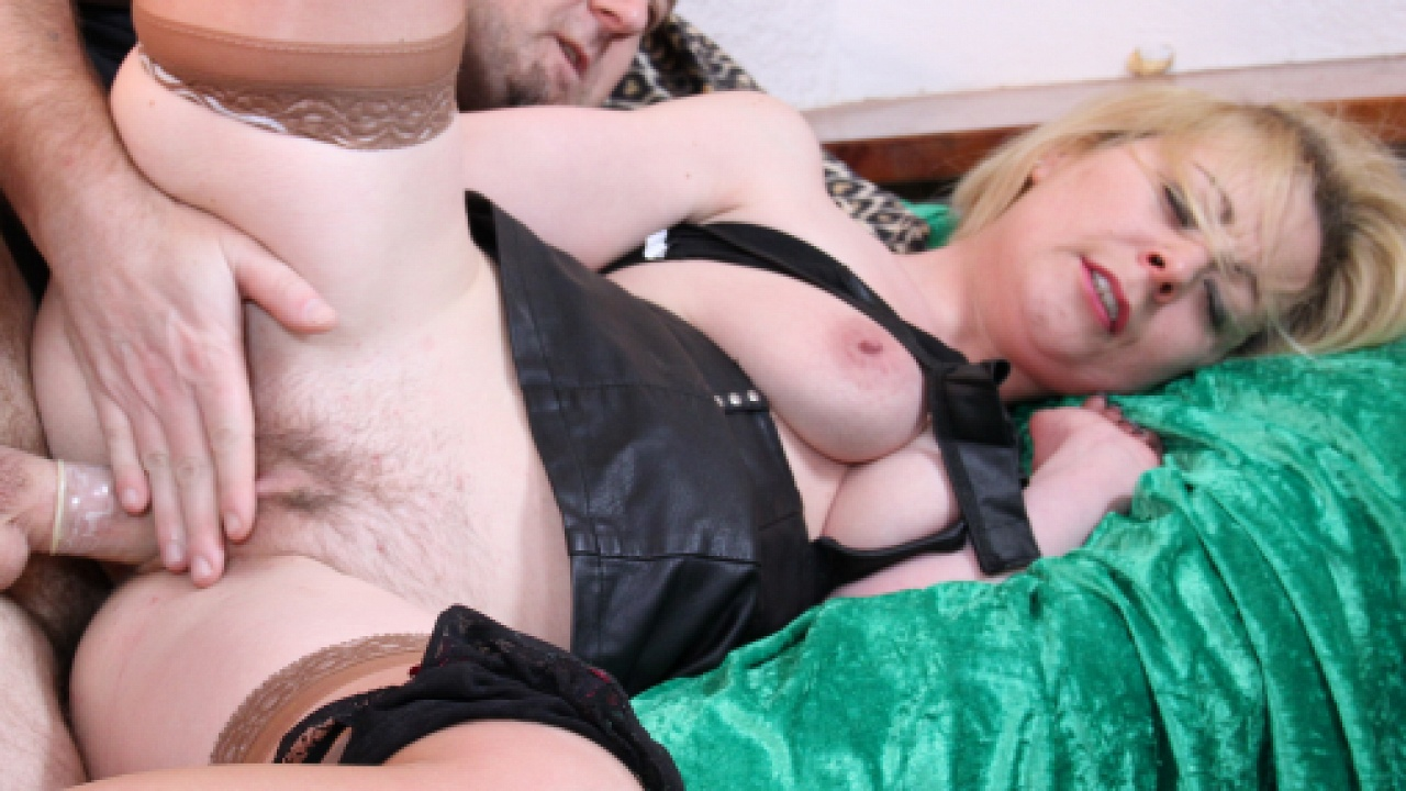 Cock Riding Blonde Likes To Titty Fuck