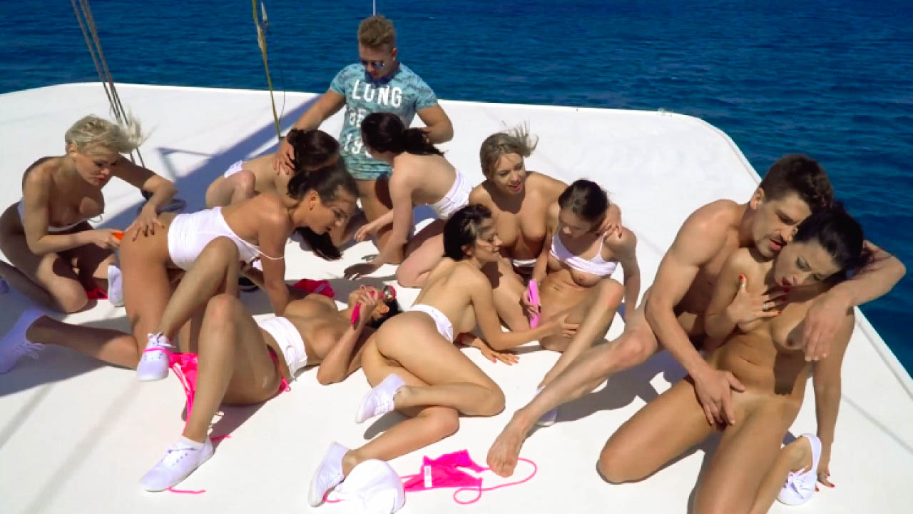 Fun And Orgy On A Yacht