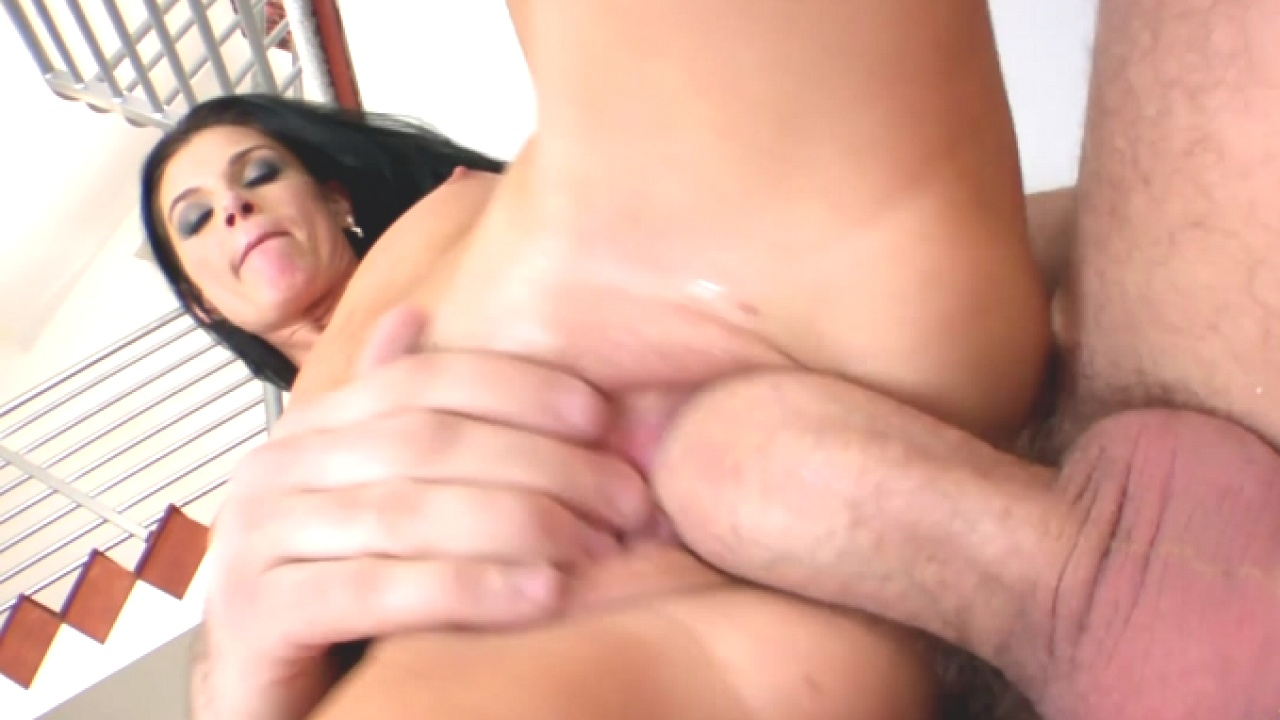 Hot Slut In Stockings Loves Cum Explosion
