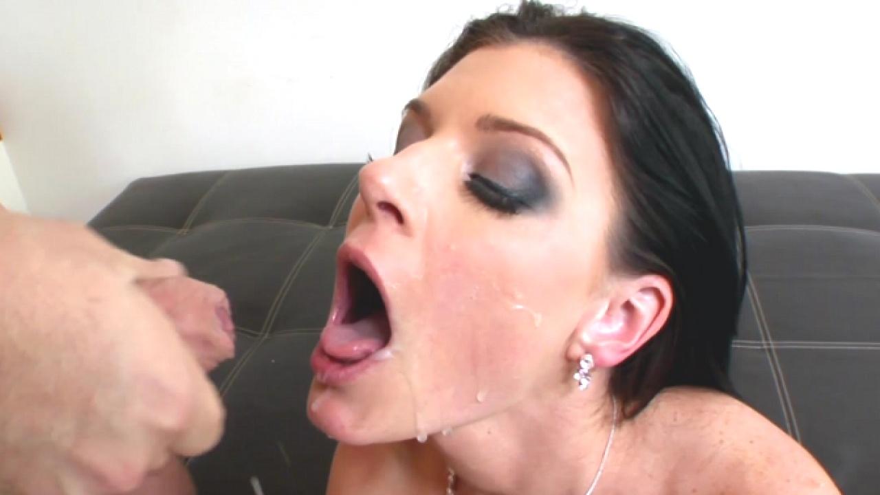 Hot Slut In Stockings Loves Cum Explosion