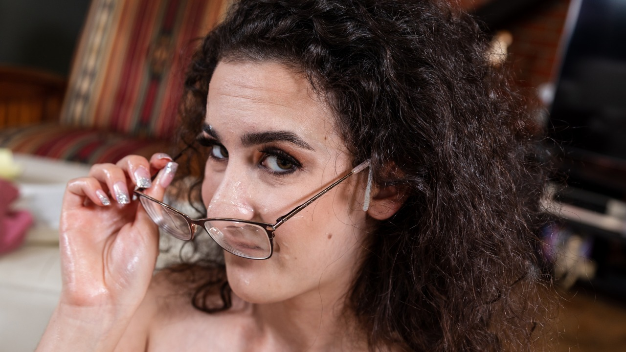 Lyra Lockhart Dirty Up Naughty Girl's Glasses Huge Pop Suck Off Video
