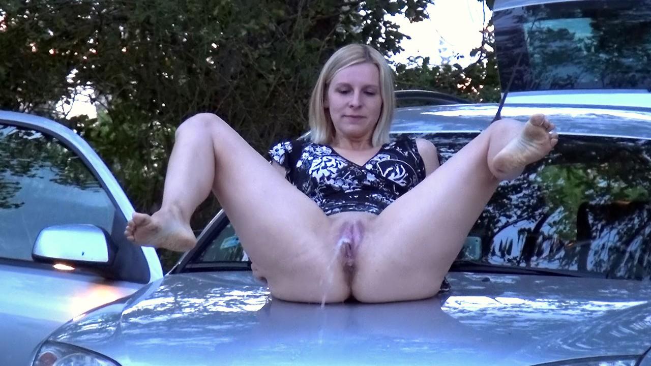 On A Car