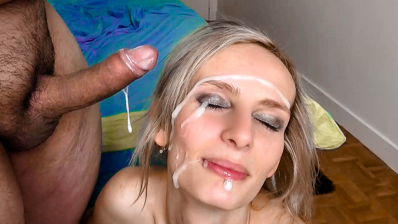 Rough Sex And Huge Facial For Euroslut